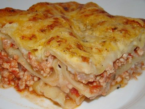 Csirkés lasagne :: Ami a konyhámból kikerül