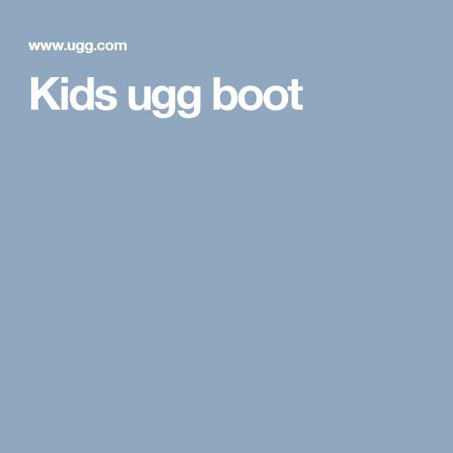 Kids ugg boot