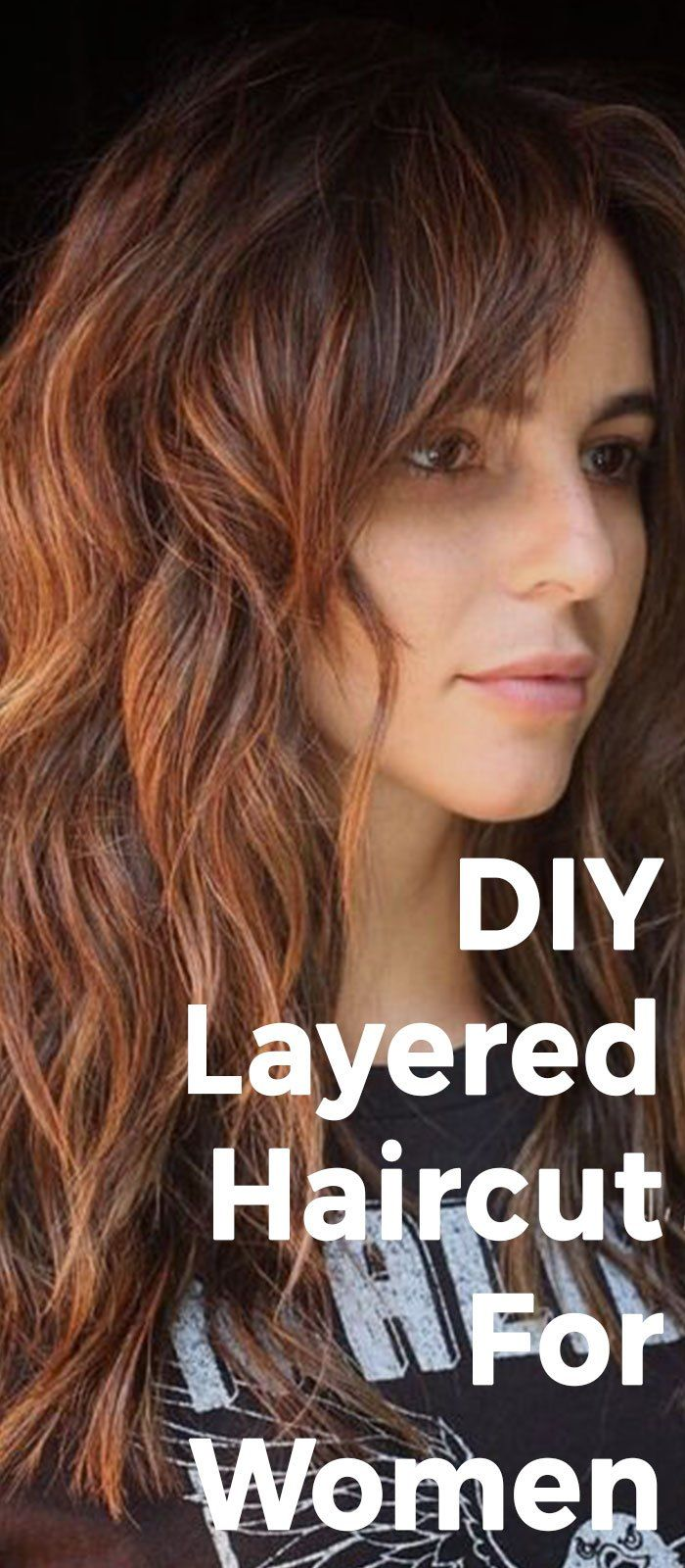 How To Get The Perfect Layered Hair According To Your Face Shape Diy Haircut Layers Layered Haircuts For Women Layered Haircuts