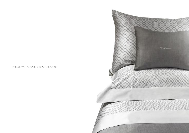 The Aston Martin home linen collection. Inspired by the beauty of Venice and designed by Emilia Burano, renowned for producing the world's finest home linen.