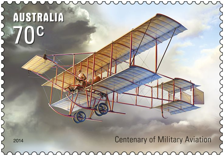 On 1 March 1914 the first Australian flight of a military airplane took place when Lieutenant Eric Harrison flew Bristol Military Biplane CFS-3 at the Army flying field, Point Cook, Victoria. Australia subsequently became the only British dominion to establish a flying corps, the Australian Flying Corps (AFC) for service during World War I. The Centenary of Military Aviation & Submarines stamp release is available now http://auspo.st/XCiCcG #stampcollecting