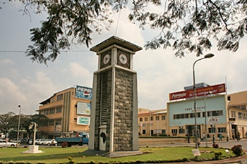 Central clock tower in Arusha