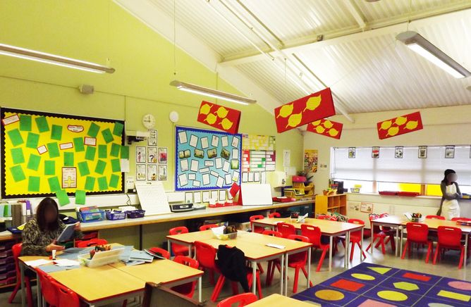 Natural light, temperature and good air quality all help create a 'clever classroom'.
