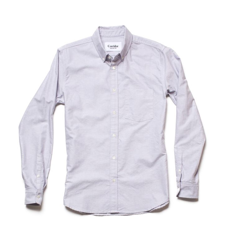Oxford Shirt - Grey