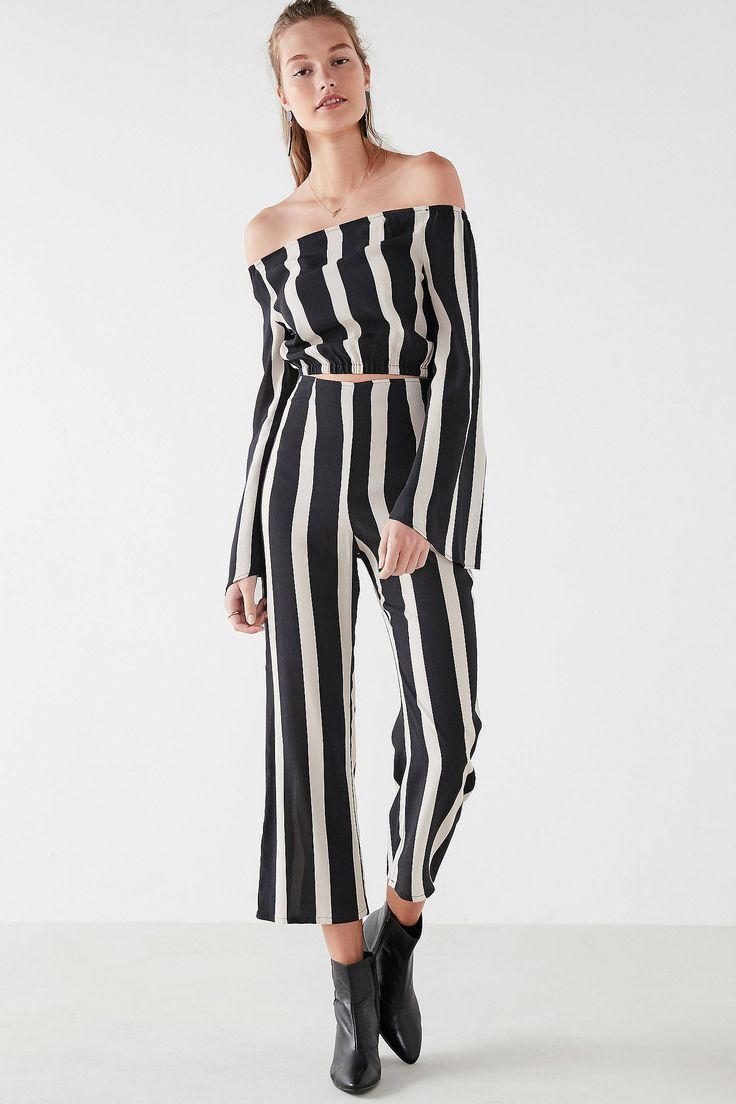 Shop Flynn Skye Striped Two-Piece Set at Urban Outfitters today. We carry all the latest styles, colors and brands for you to choose from right here.