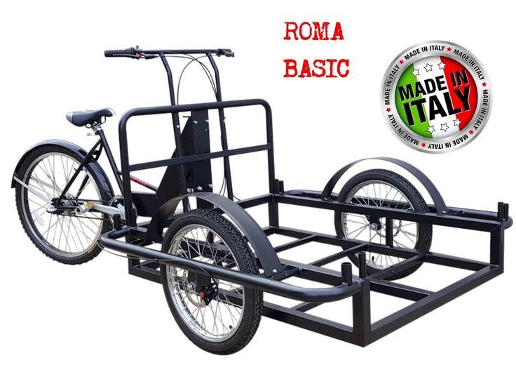 ROMA BASIC Work Tricycle Bike Cargo Tricycle bike