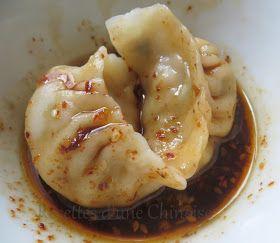 Recettes d'une Chinoise: Raviolis aux ciboulettes et pousses de bambou 春笋韭菜饺