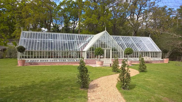 The beautiful glass house at Lime Wood hotel in the New Forest