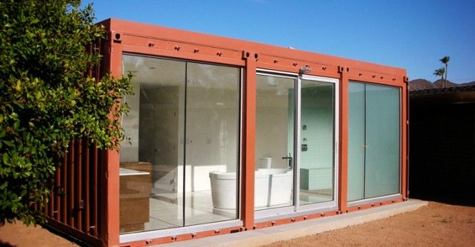 Shipping container homes upcycle living arizona for Buy shipping container homes