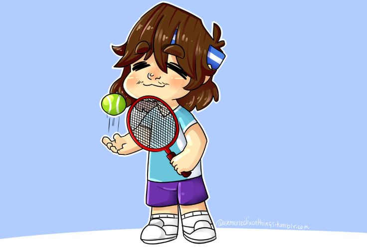 """askmerledixonthings: """"Tennis Norman because of course. I saw a gifset of norman saying he played tennis when he was a kid (I have no idea how to link it tho sorry fam) and I had to """""""