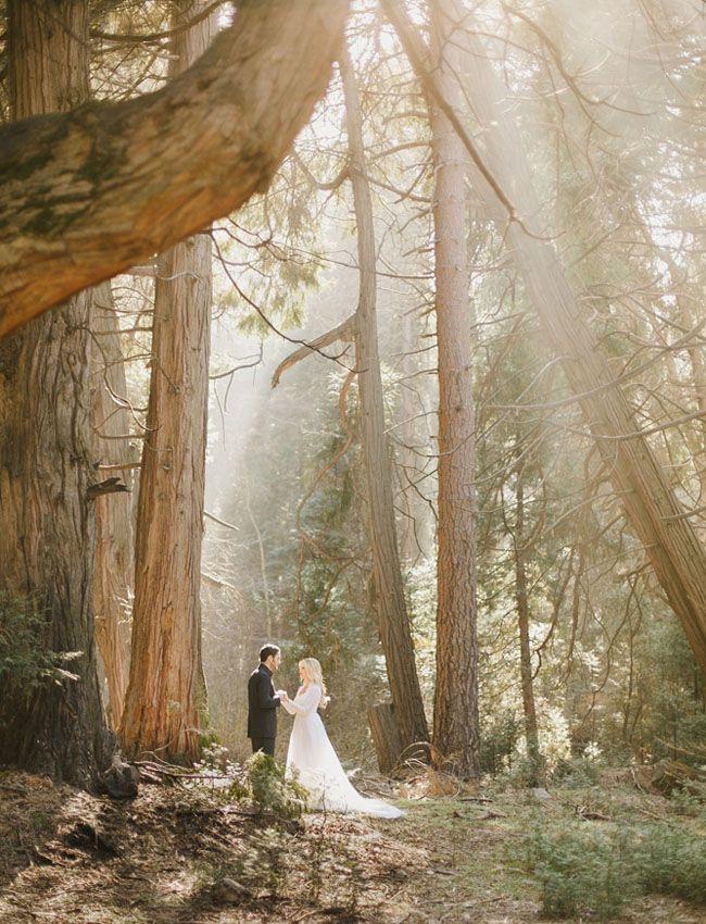 wedding in the woods, wedding, inspiration, fairy light