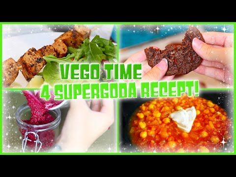 VEGO TIME EP.1 | Mina 4 Favorit Recept! - YouTube