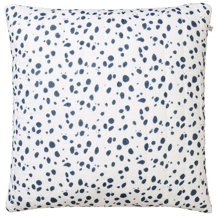 Tiger Dot kudde, blå i gruppen Textil / Plädar & Prydnadskuddar / Prydnadskuddar hos RUM21.se (1024557)