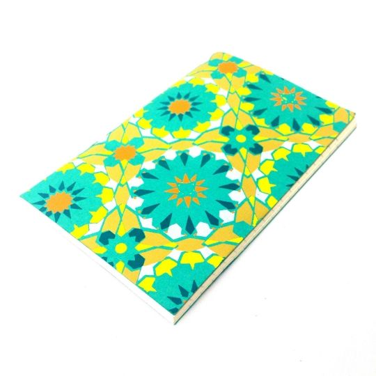 Boho Notebook-£3 #prettytwisted #boho #notbook #stationary #present http://prettytwistedonline.co.uk/product/boho-patterned-notebook/