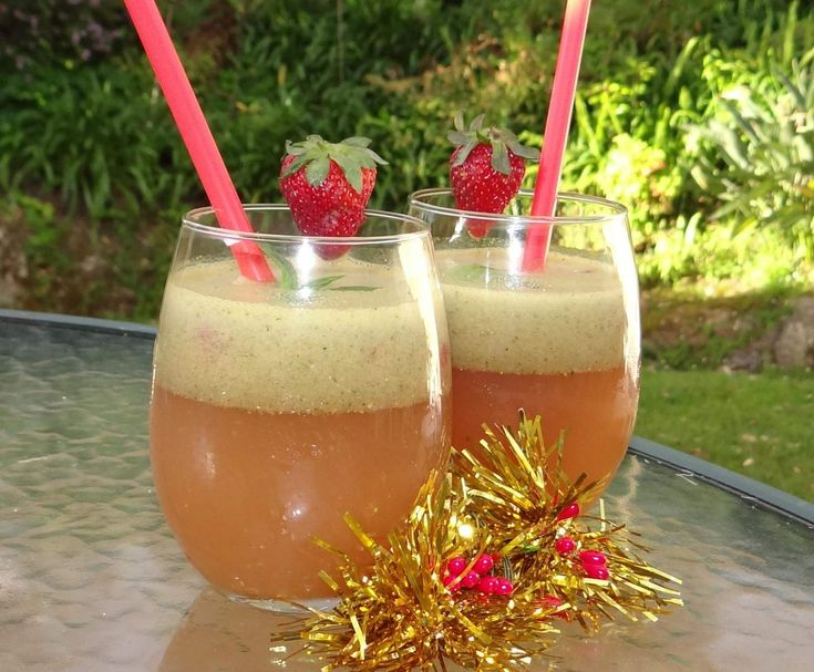 Recipe African Surprise Christmas Cocktail (Rooibos) by ChantelTHL - Recipe of category Drinks