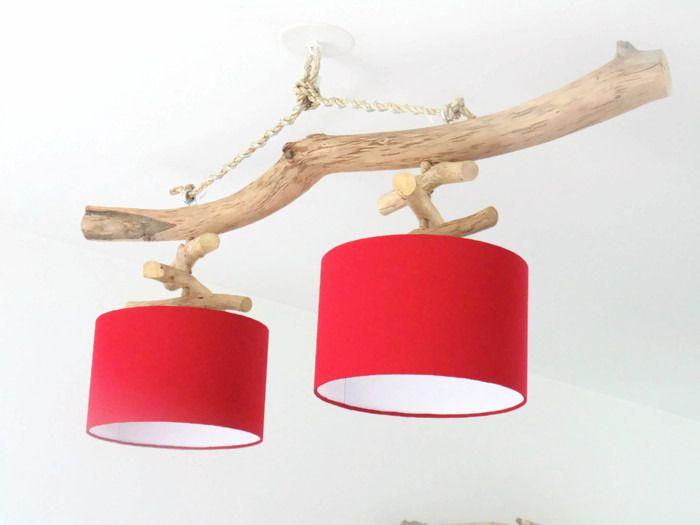 les 25 meilleures id es de la cat gorie lampe en bois. Black Bedroom Furniture Sets. Home Design Ideas