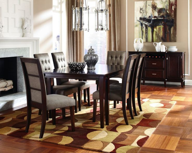 Larimer Table 4 Chairs Dining Room