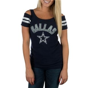 Dallas Cowboys Chrysanthemum Tee | Dallas Cowboys Clothing | Dallas Cowboys Store - Dallas Cowboys Pro Shop