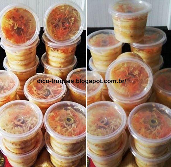 Portal Dicas e Truques: Receita de Torta de Pão no Pote - Faça e venda