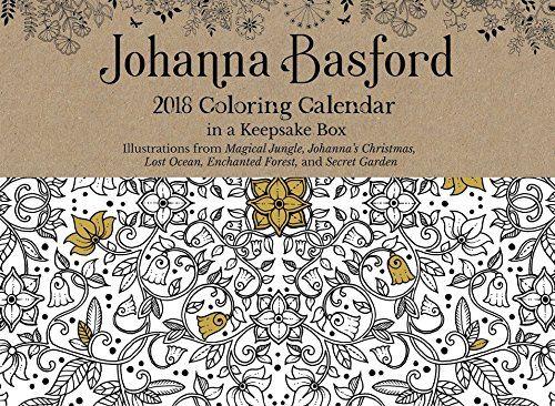 Johanna Basford 2018 Coloring Day To Calendar By Joha