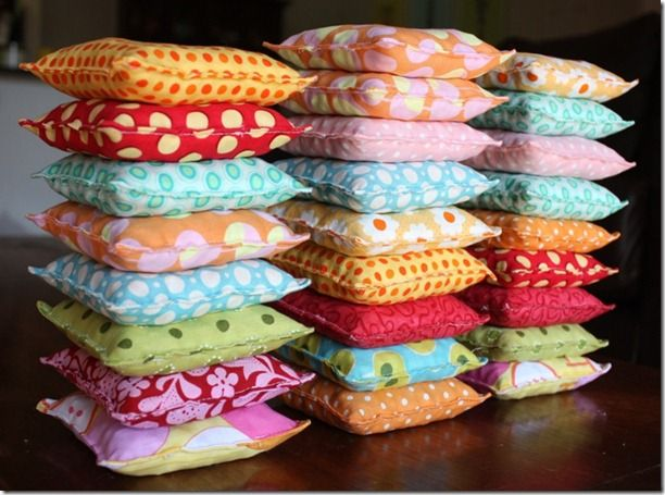 Alphabet bean bags- I have been looking everywhere for this! My next project.