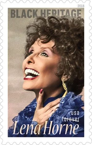 Lena Horne, Legendary Performer and Civil Rights Activist, Honored with U.S. Forever Stamp