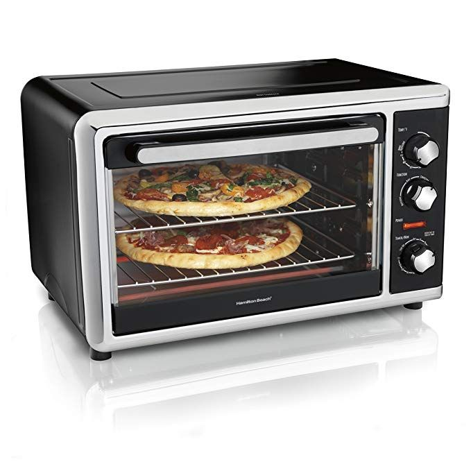 Hamilton Beach 31105hb Countertop Oven With Silver Black With