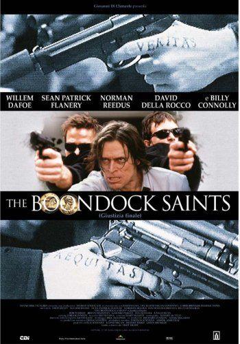HUGE Laminated / Encapsulated Boondock Saints - Italian POSTER @ niftywarehouse.com #NiftyWarehouse #BoondockSaints #NormanReedus #Film #Movies #CultMovies #CultFilms