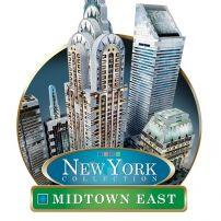 Puzzle 3D New York Midtown East - 875 elementów  #puzzle #puzzle3d