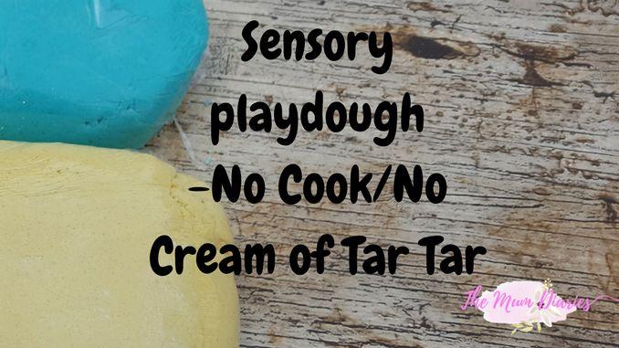 #Sensory Playdough #Nocook  What will you add?