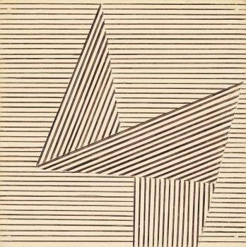 Henryk Stazewski - Composition, 1985, India ink / Sacred Geometry <3