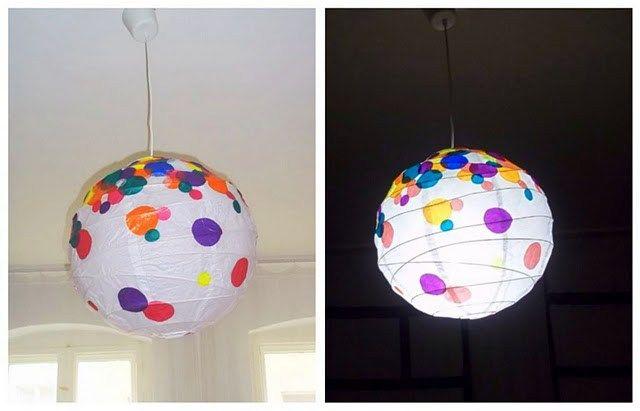 Hundreds And Thousands Regolit Lamp Met Afbeeldingen Lampion Diys Feestje