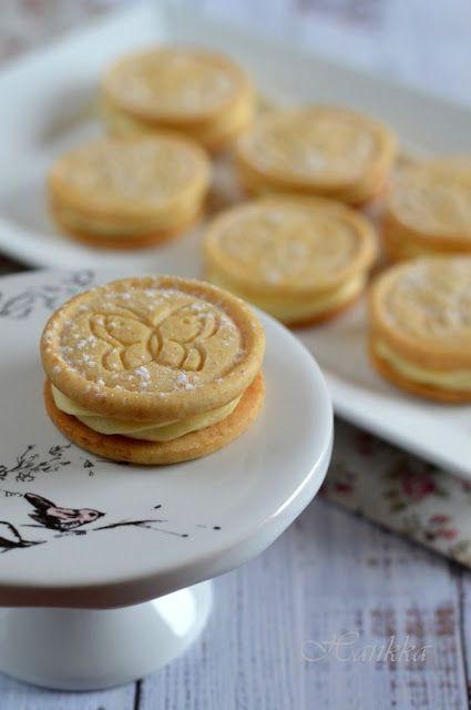 HANKKA - Vaníliakrémes mézes keksz