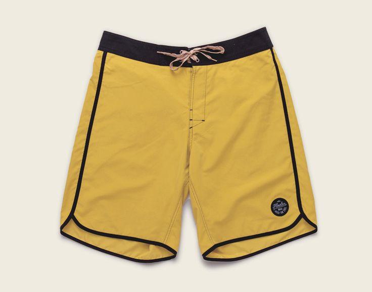 Bruja Boardshorts - Enter The Dragon Yellow