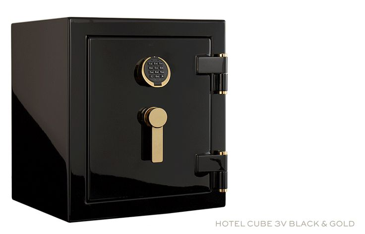 Most exclusive security for the world´s leading hotels & chalets: The HOTEL CUBE by Stockinger.  Stockinger combines technical perfection with impeccable details and timeless design for highest requirements. As a next evolution Stockinger presents the HOTEL CUBE in black high-gloss varnish with 24K gold-plated elements. Another masterpiece for people that are only satisfied by the best, Made in Germany.  #stockingersafes #stockingervaults #luxury #safes #vaults #luxurysafes #luxuryvaults…