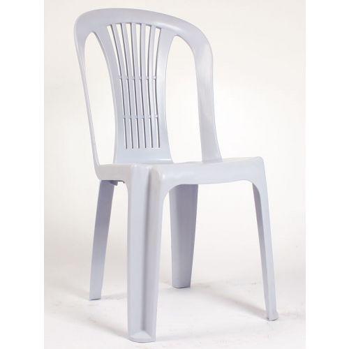 2,5 kg kolsuz plastik sandalye beyaz