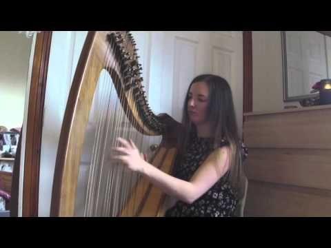 Strathspey and Reels   Jessica Burton (Scottish Harp) - YouTube