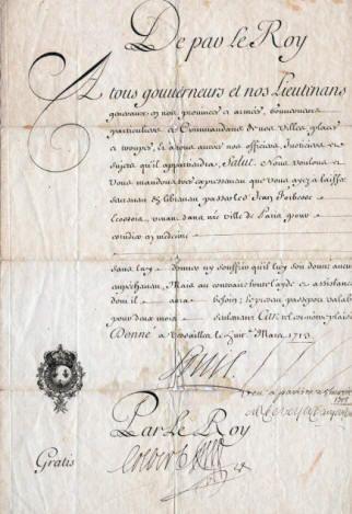 1713 louis xiv signed document france louis xiv le roi soleil pinterest louis xiv. Black Bedroom Furniture Sets. Home Design Ideas