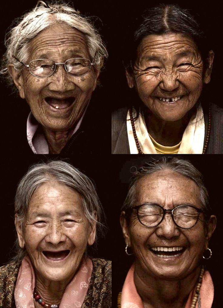 Tibetan smiles. I just want to give them all hugs!