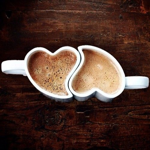 coffe hearts
