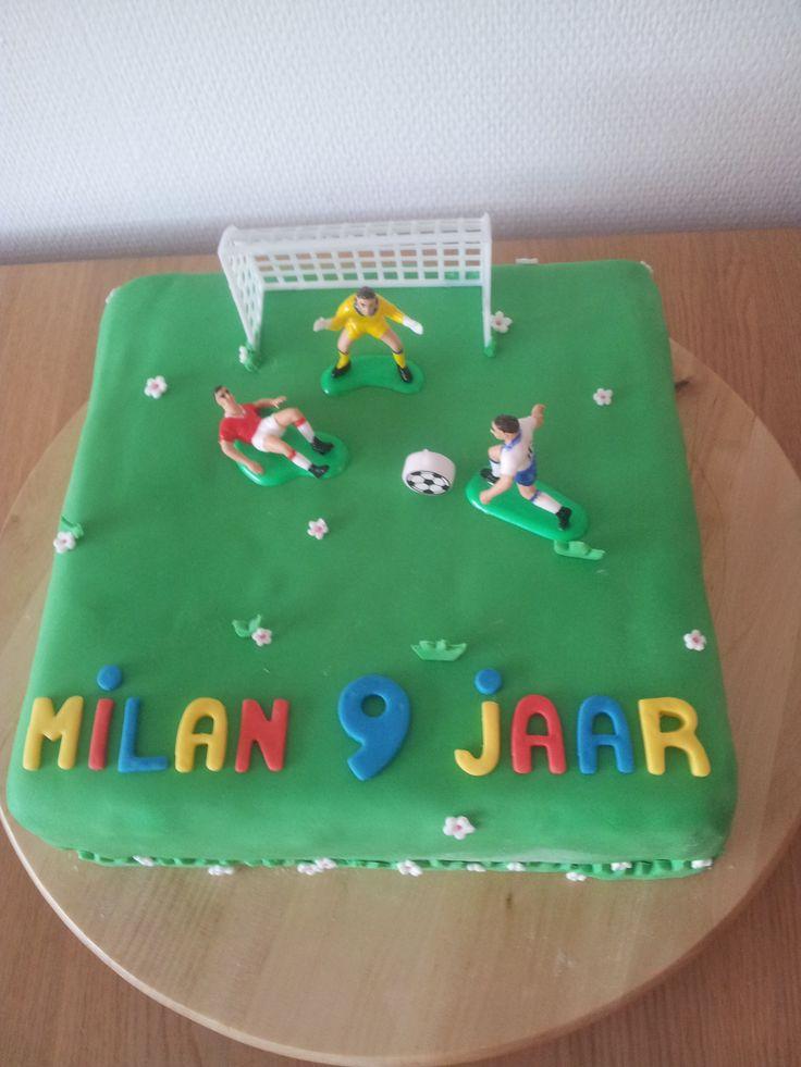 Verjaardagstaart Milan 9 jaar