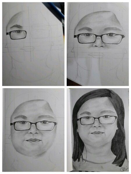 Sketch!  Using HB and 2B graphite pencils