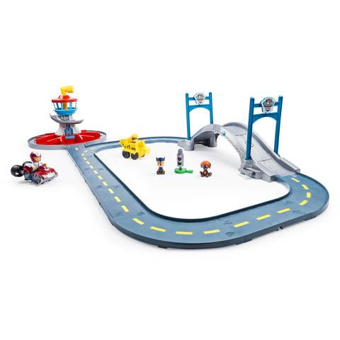 Get Ready For a Ruff Ruff Rescue with the Paw Patrol Launch N Roll Lookout Tower Track Set!