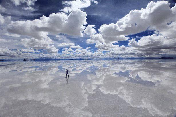Boliwia -solnisko w  Andach....tam gdzie niebo spotyka się z Ziemią