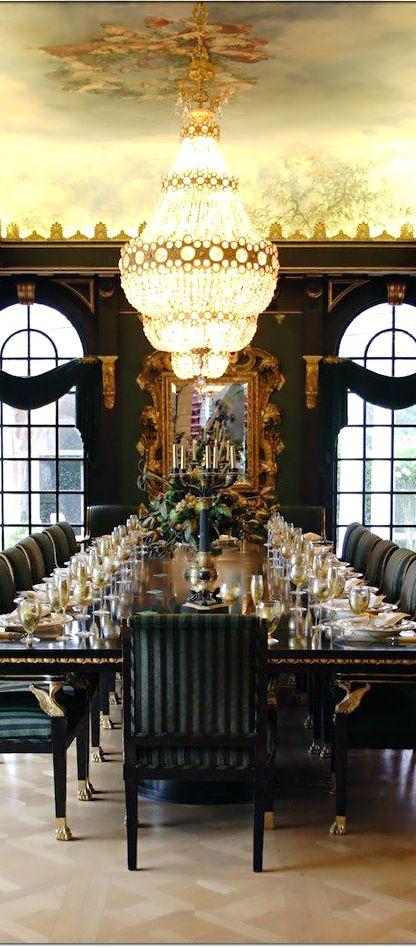Billionaire Lifestyle: Extravagant Dinner Parties   LUX Lifestyle
