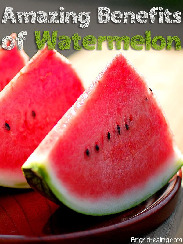 The Amazing Health Benefits of Watermelon #watermelon #watermelonbenefits