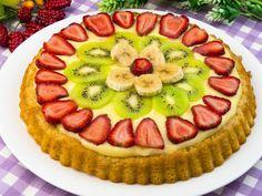 Rețeta acestei tarte cu fructe proaspete cu siguranță va intra în topul deserturilor preferate!