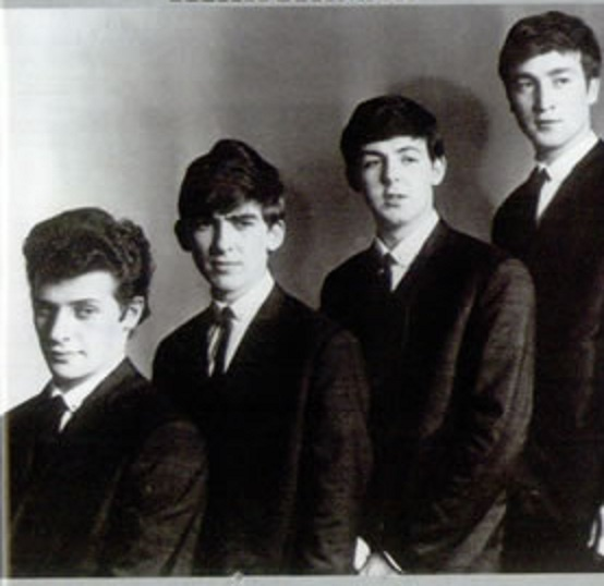 The Beatles with Pete Best   The Beatles   Pinterest