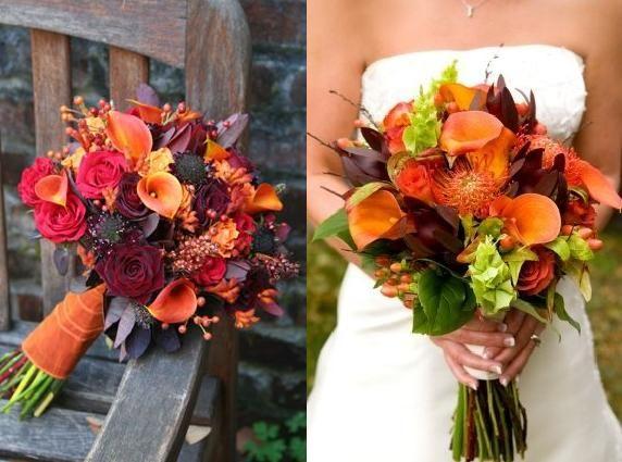 Bruiloft Inspiratie : Thema bruiloft: herfst