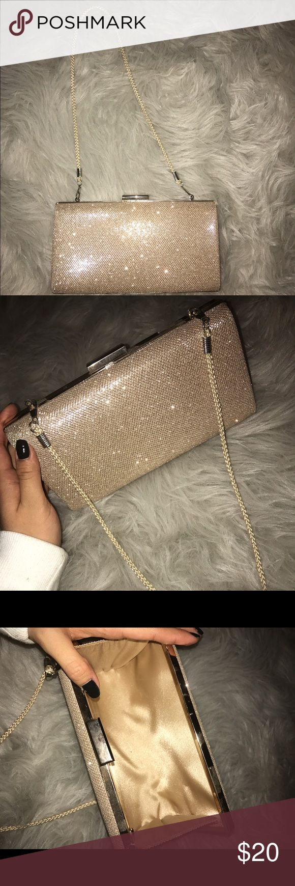 PROM CLUTCH This sparkly clutch was only used once and it was for prom I never used it for anything else it is in perfect condition! WINDSOR Bags Clutches & Wristlets